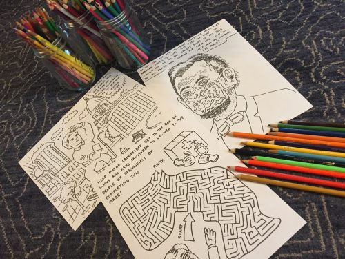 Downtown Coloring Pages