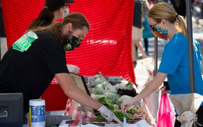 It's finally happening. The summer market is kicking off downtown!